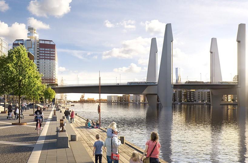 Nya Hisingsbron Arpeggio - Göteborg